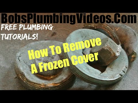 Sewer Cleanout Plug / How To Remove A Sewer Plug