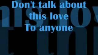cheryl cole don't talk about this love lyrics