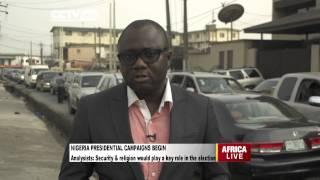 Nigeria's Presidential Campaigns Begin