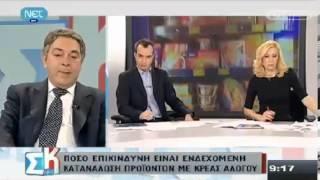 Συνέντευξη κ. Ραμαντάνη για θέματα Ασφάλειας Τροφίμων
