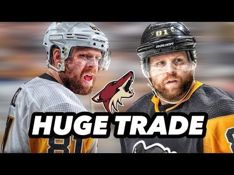 Phil Kessel TRADED To The Arizona Coyotes