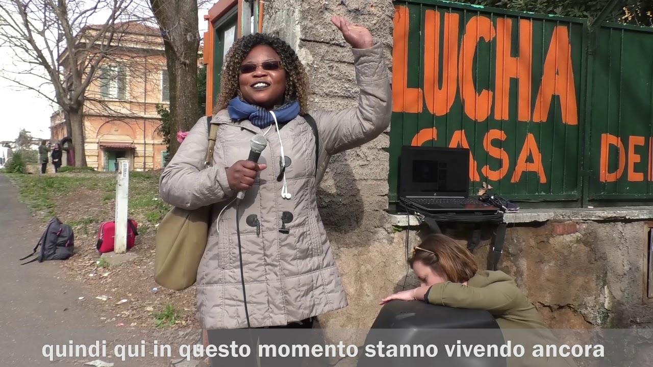 """Un presidio per tenere in vita """"Lucha y Siesta"""", la casa delle donne"""