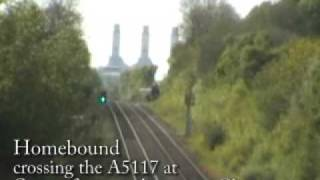 preview picture of video '6233 Duchess of Sutherland at speed eastbound from Queensferry 9th May 2009'