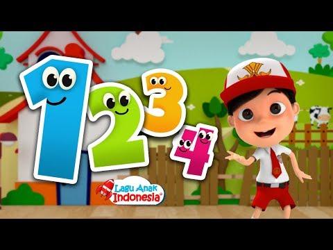 Lagu Anak Balita Indonesia - Lagu 1234 - Lagu Anak Indonesia - Nursery Rhymes - أغنية الأرقام