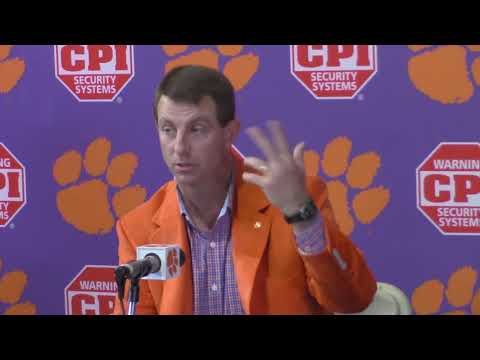 TigerNet: Early signing period no issue for Swinney, Clemson