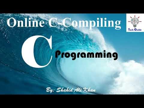 Online Compile  C Program