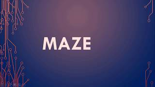 Maze Meaning, Maze Definition and Maze Pronunciation
