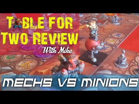 Mechs vs Minions Table for Two Review