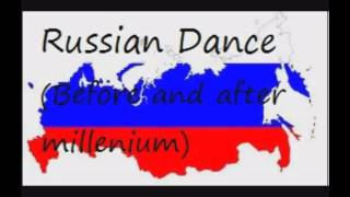 Russian Dance Mix Before and after millenium