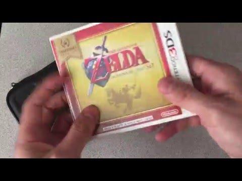 Zelda Ocarina of Time Nintendo Selects Unboxing