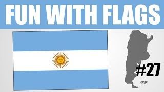 Fun With Flags #27 - Argentina