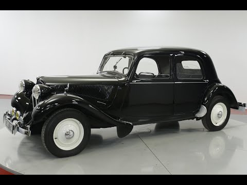 Video of '49 Traction Avant - PXIX