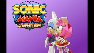 Amy & Rouge Watch Sonic Mania Adventures PT 2