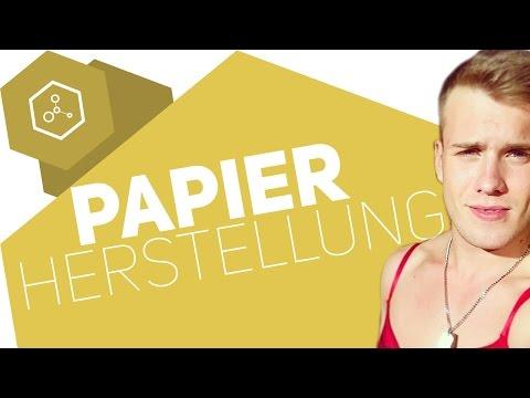 Wie wird Papier hergestellt?! ● Gehe auf SIMPLECLUB.DE/GO & werde #EinserSchüler
