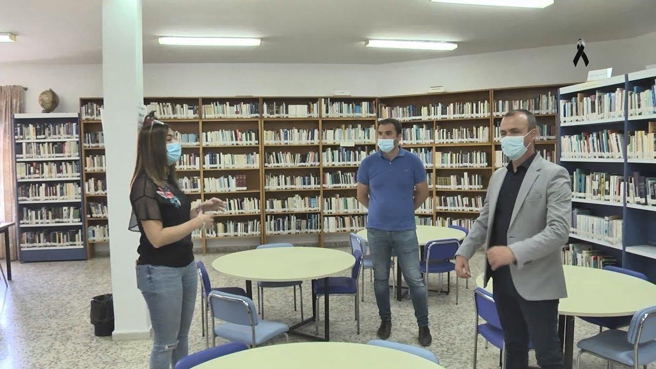 Ya está abierta la remodelada Biblioteca municipal