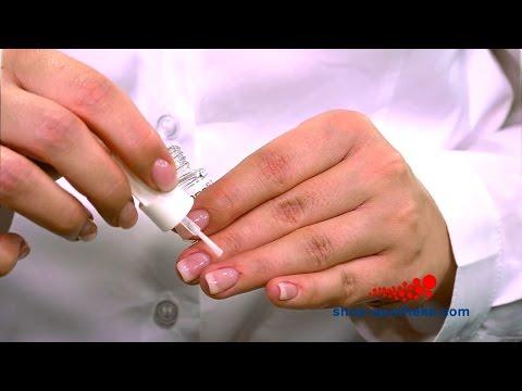 Wie das Ei in der Essenz gribok der Nägel aufzulösen