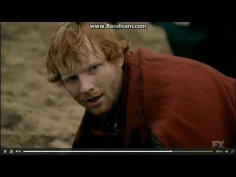, title : 'Ed Sheeran acting / cameo on The Bastard Executioner'