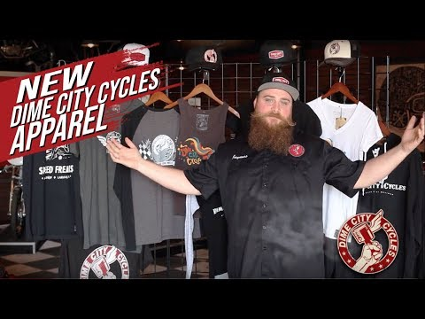 New Dime City Cycles Original Apparel