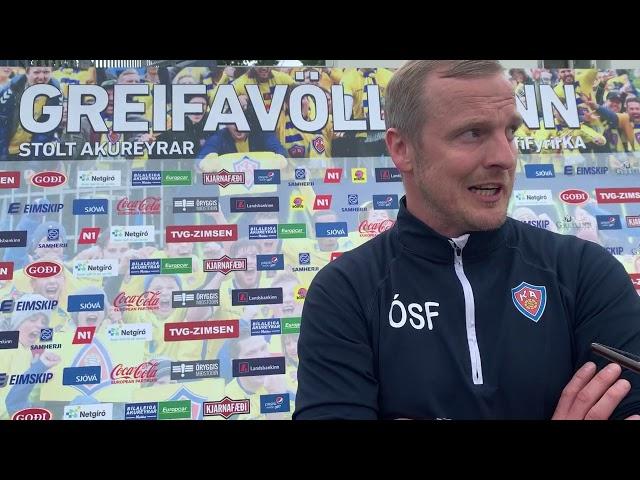 Óli Stefán: Þetta er allt saman risastór skóli
