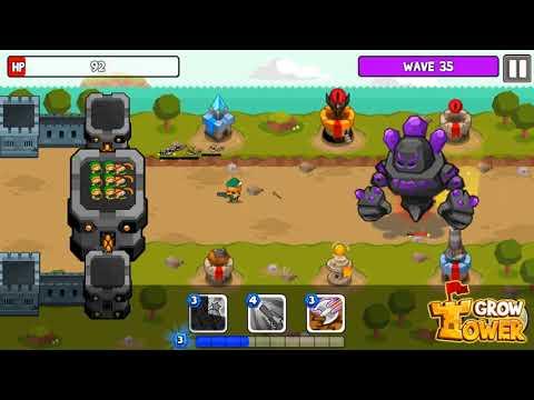 Vídeo do Grow Tower: Castle Defender TD