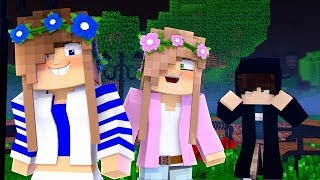 LITTLE CARLY HAS A STALKER!   Minecraft My New Life #6.