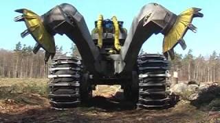 Scarifier Bracke Forest T26.a - Disc trencher
