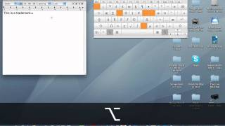 Typing Special Characters On A Mac