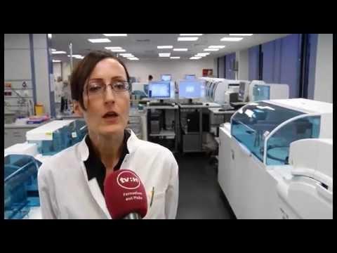 Einweihung des neuen Zentrallabors des Universitätsklinikums Halle (Saale)