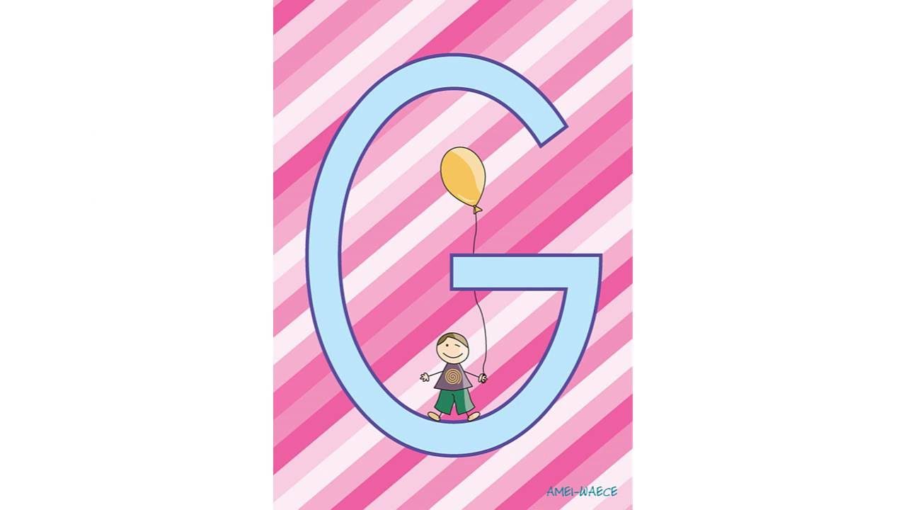 El abecedario para niños en Mayúsculas (y enlace de descarga)