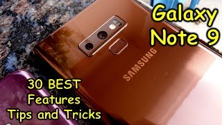 Galaxy Note 9 - 30 BEST features, tips and tricks you must know