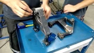 Kart Cross Construção Artesanal FASE 10 - Construindo As Balanças Dianteiras