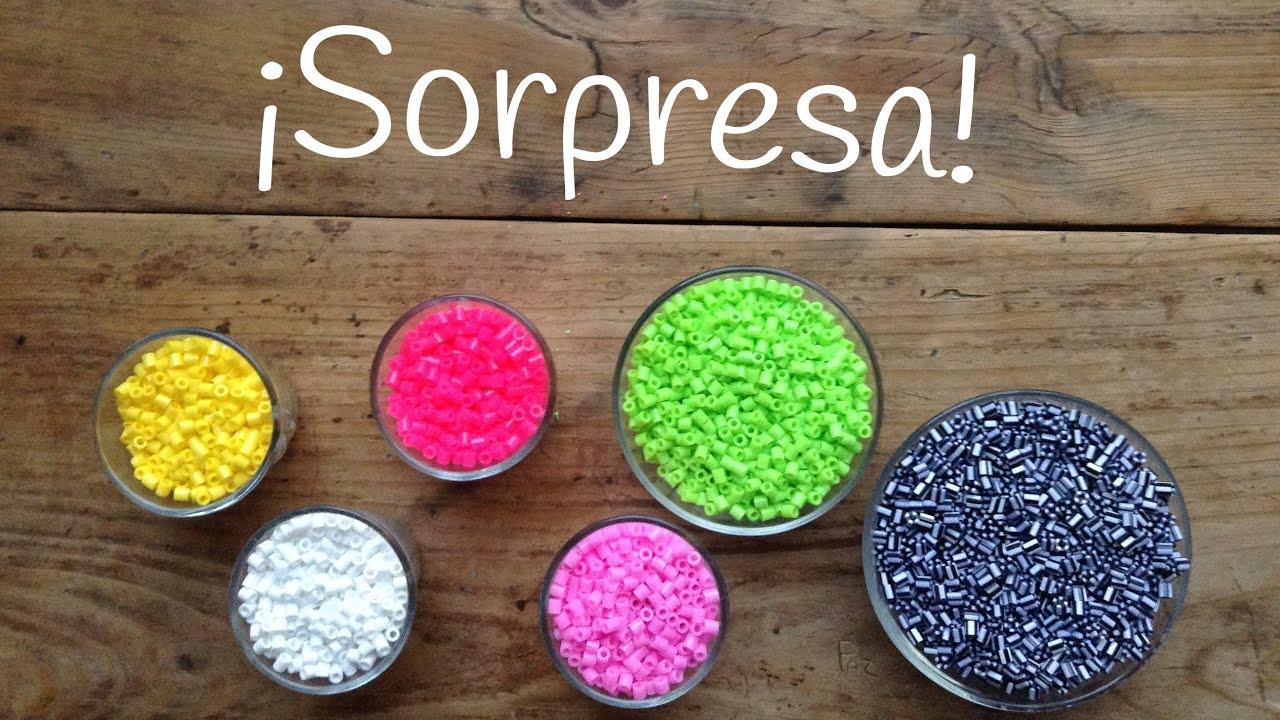 JUGUETES sorpresa en español-Hama Beads | SORPRESAS para niños