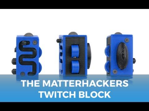 Photron Fidget Cube Blue The Twitch Block