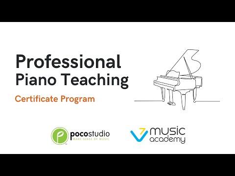 Professional Piano Teaching Certificate Program - YouTube
