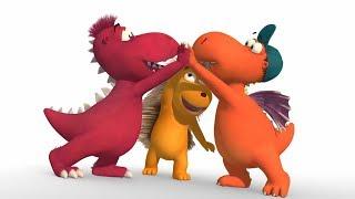 Мультики для детей - Кокоша, маленький дракон - Сторож - Серия 44