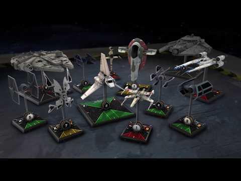 Gra figurkowa Star Wars: X-Wing - zestaw podstawowy (druga edycja)
