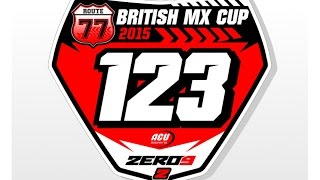 preview picture of video 'ROUTE 77 Mx - Rnd 2 GoldenTyre National Cup 2015 PRESTON DOCKS Motocross'