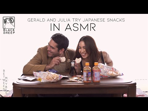 Japanese Snacks - ASMR Edition | Gerald Anderson & Julia Barretto | Between Maybes