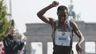 Download Video Kenenisa Bekele gana Maratón de Berlín 2016 MP3 3GP MP4