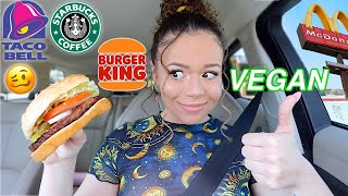 I only ate VEGAN FAST FOOD for 24 HOURS! by Krazyrayray