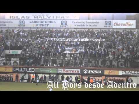 """""""La Peste Blanca vs. Ferro (1-1) // All Boys desde Adentro"""" Barra: La Peste Blanca • Club: All Boys"""