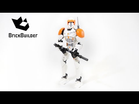 Vidéo LEGO Star Wars 75108 : Commandant Clone Cody