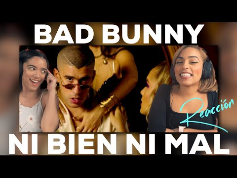 [Reaccion] Ni Bien Ni Mal - Bad Bunny ( Video Oficial ) | Just Vlogging | Dominivlog