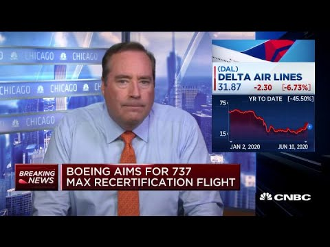 Boeing aims for 737 Max recertification flight by end of June - YouTube