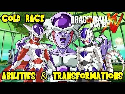 Dragon Ball Xenoverse Theory Discussion: Cold Frieza Arcosian Race Abilities & Transformations