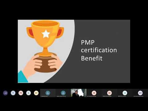 """สัมมนา Online """"แนะนำการเตรียมตัวสอบ PMP 2021"""""""