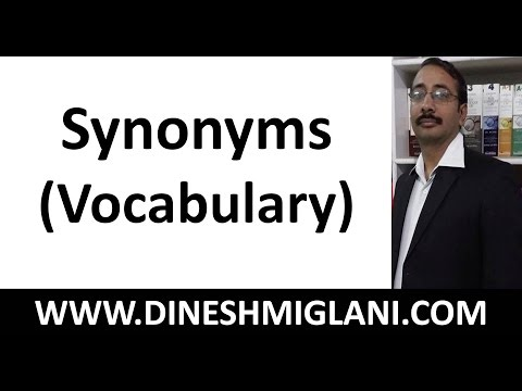Download 300 IMPORTANT SYNONYMS ( VOCABULARY) SSC CLAT (BUYING PENDRIVE COURSE CALL@9215514435) Mp4 HD Video and MP3