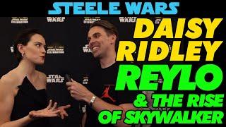 Daisy Ridley talks Reylo & The Rise Of Skywalker