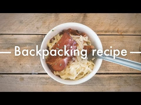 For any hikers/campers out there, this guy makes videos with delicious lightweight food options. All credit for this video goes to u/ormagon_89.