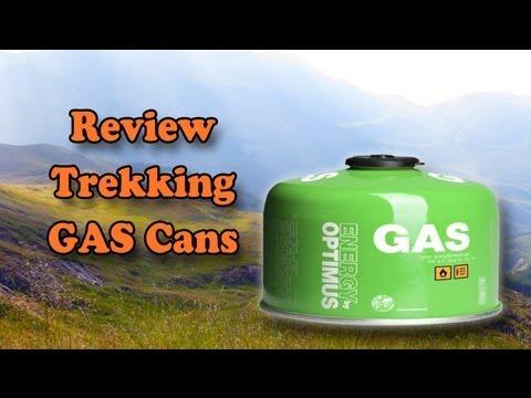 Recensione tipologie bombolette GAS campeggio - trekking